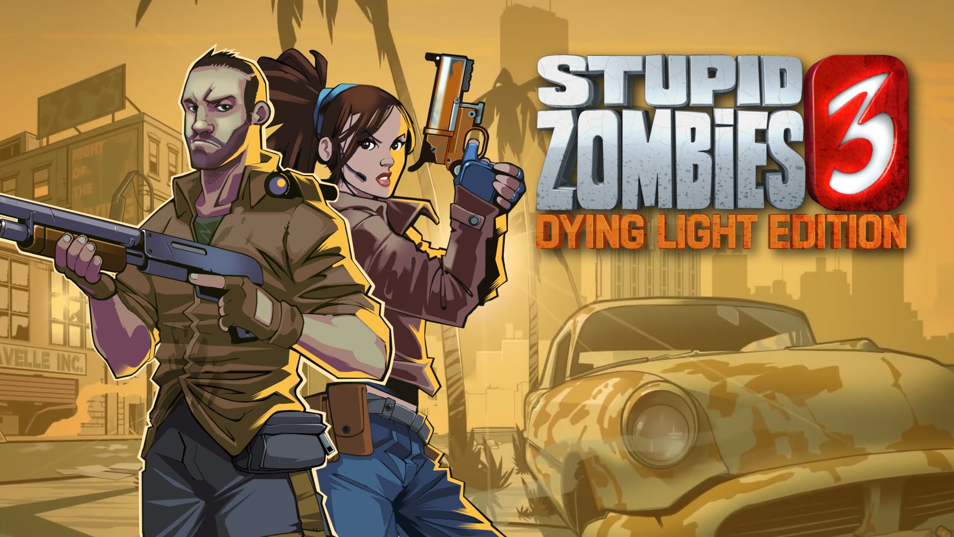 game STUPID ZOMBIES 3 DYING LIGHT do hoa dep