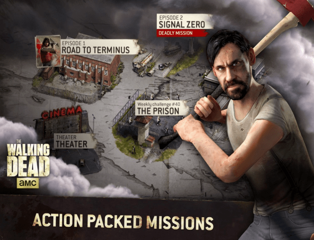 game THE WALKING DEAD: NO MAN'S LAND tot