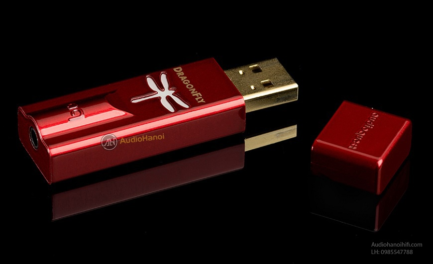 Bo giai ma USB AudioQuest DragonFly Red