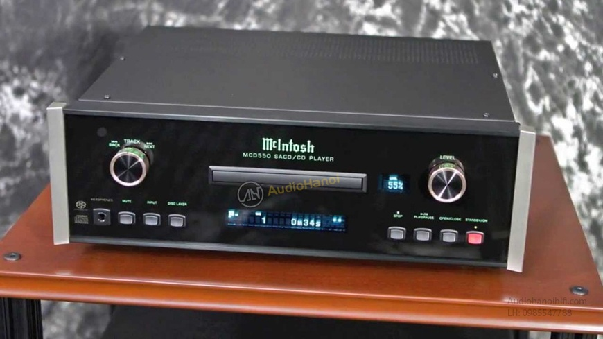 Dau SACD/CD McIntosh MCD550 chat