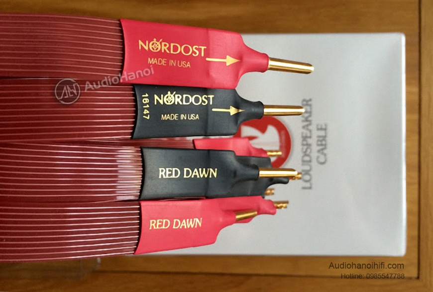 day loa Nordost Red Dawn Leif chinh hang