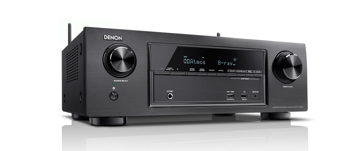 Ampli Denon AVR-X1300W can canh