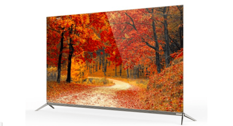 TV OLED 4K sieu mong 55in