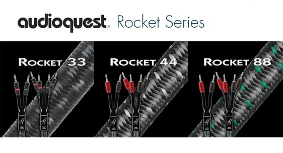 dong day loa AudioQuest Rocket series