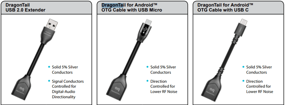 AudioQuest Dragontail USB