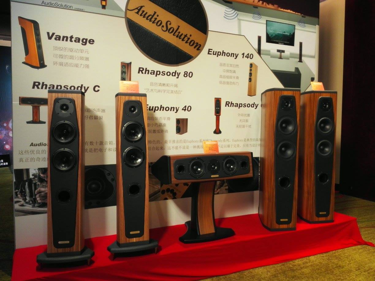 Loa AudioSolutions Rhapsody 80 dep