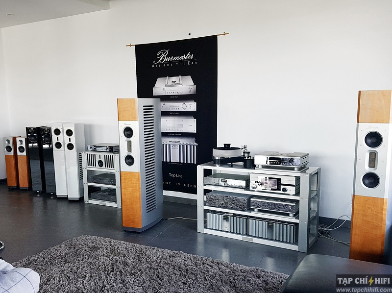 Phono preamp Burmester Top Line 100 dep