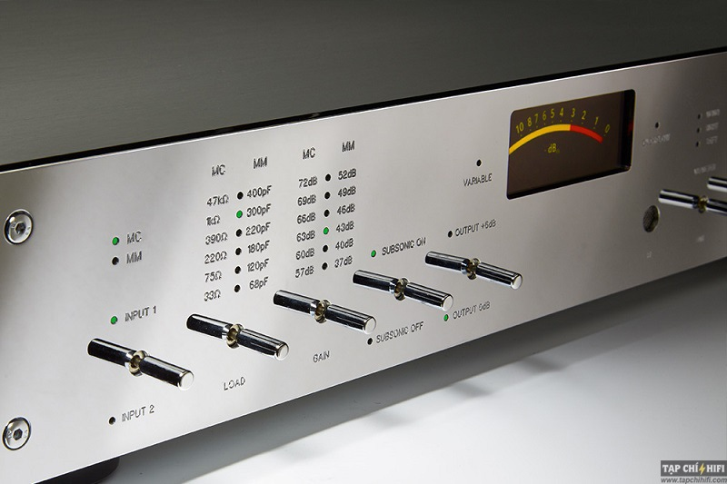 Phono preamp Burmester Top Line 100 tot
