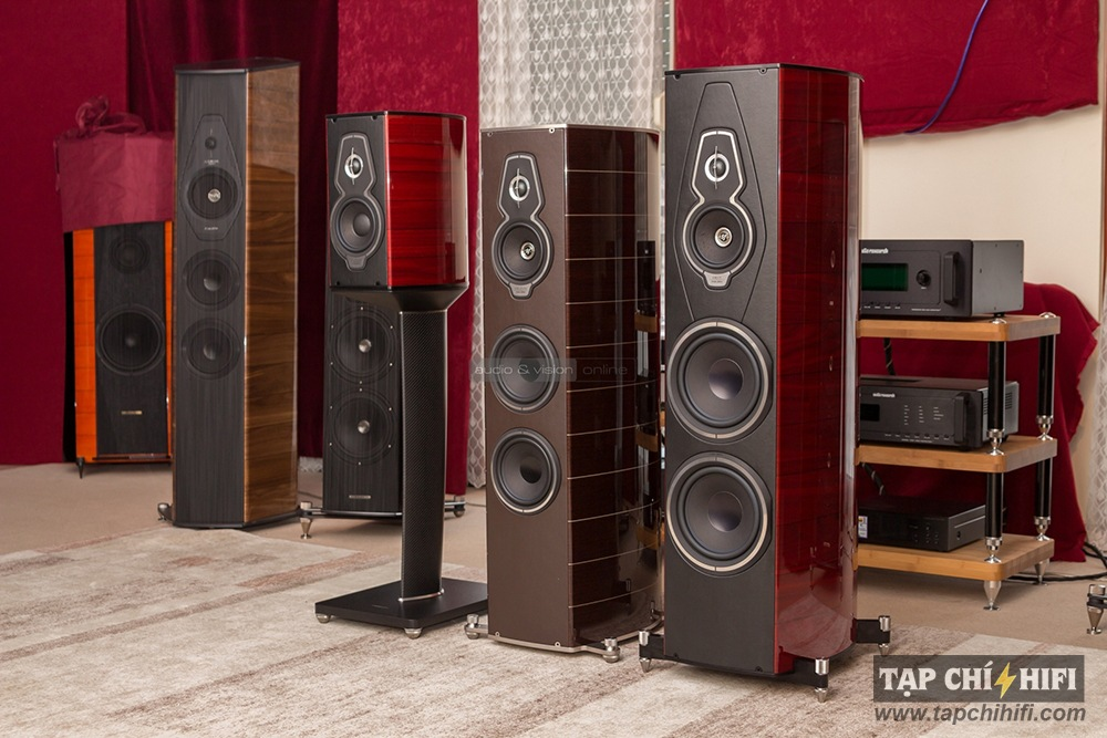 Loa sonus faber Guarneri Homage Tradition chat