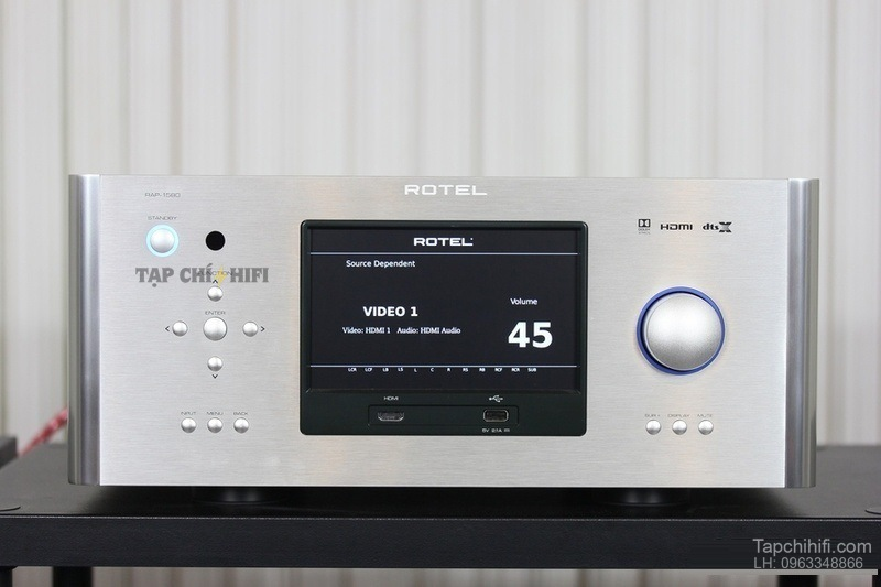 Ampli Rotel RAP-1580 chat