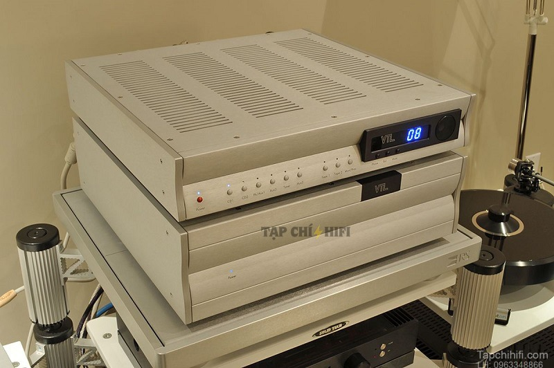 Pre ampli VTL TL7.5 Series III Reference tot