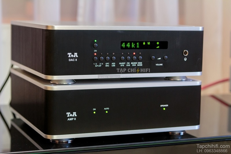 Power ampli T+A AMP 8 chat