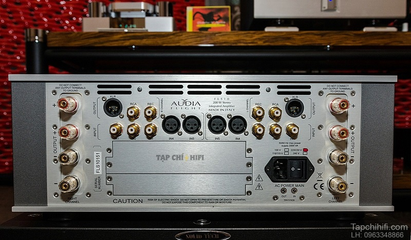 Ampli Audia Flight FLS10 dep