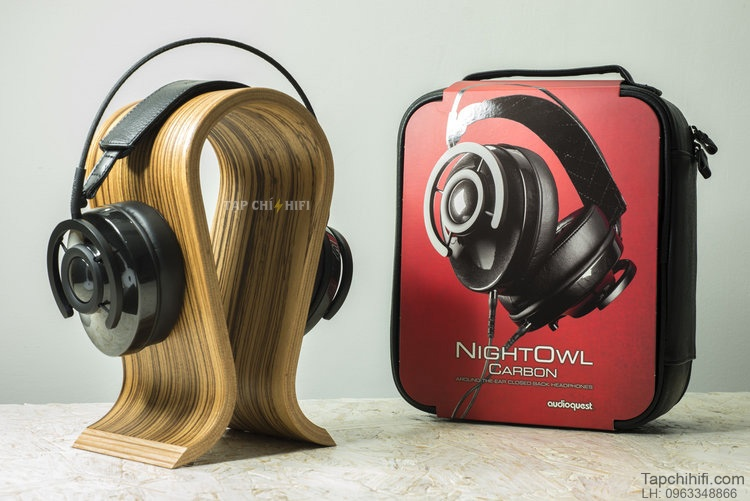 Headphone AudioQuest NightOwl Carbon chuan
