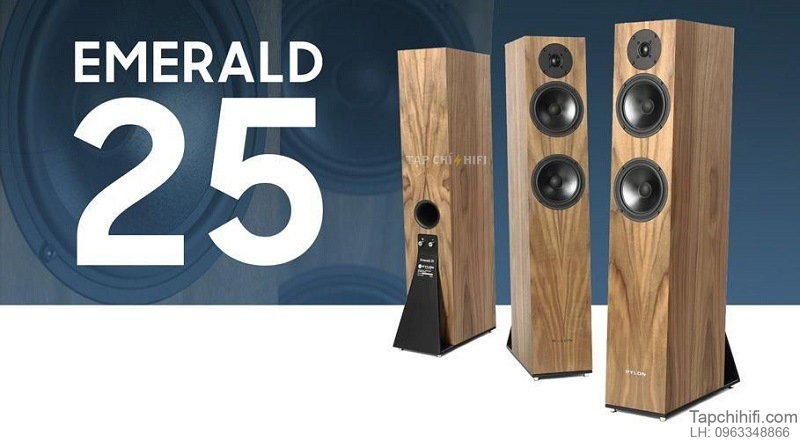 Loa Pylon Audio Emerald 25 chat