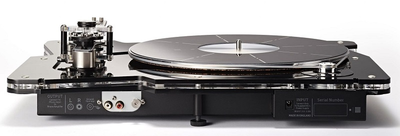 dau dia than DG-1 Dynamic Groove Record Player dep