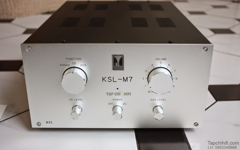 Preamp Audio Note Kondo KSL M7