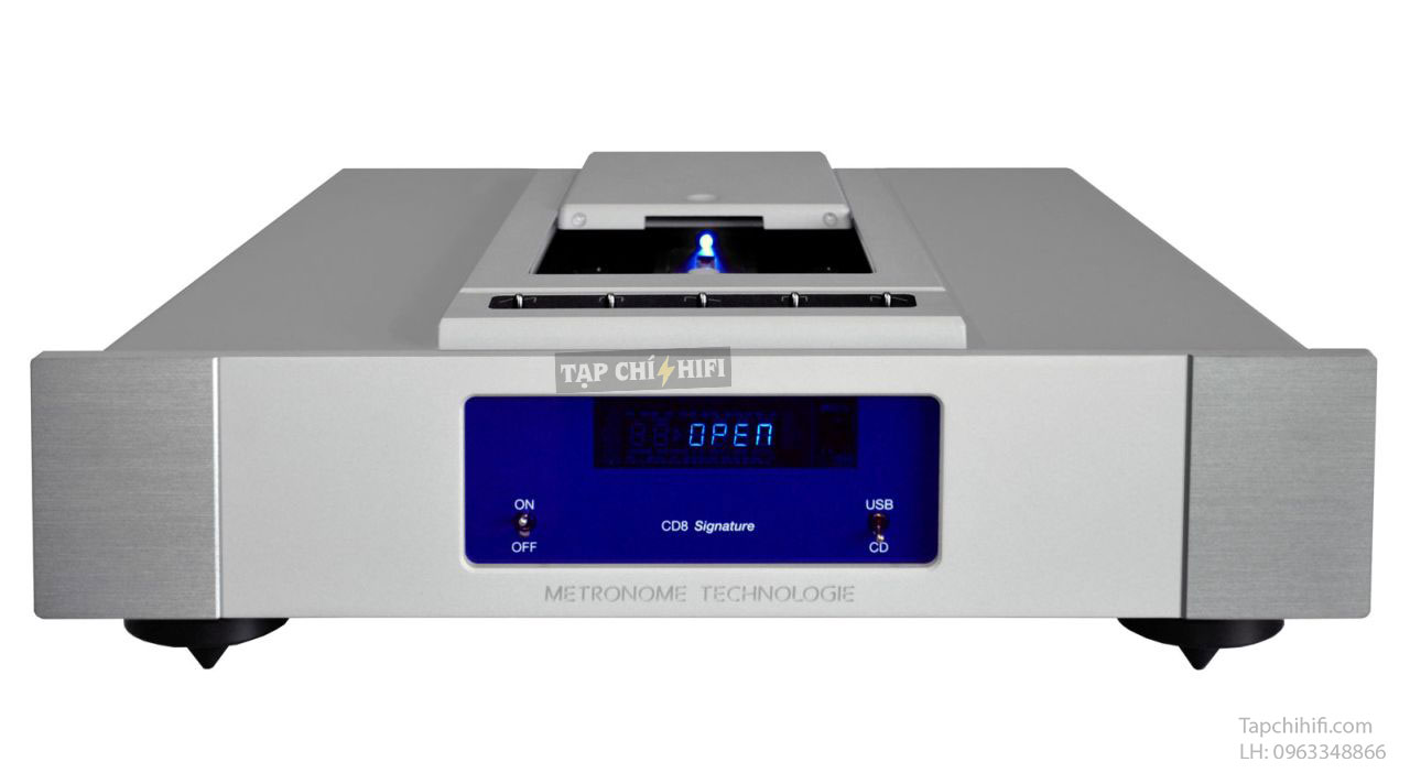 metronome technologie cd player cd8 s white