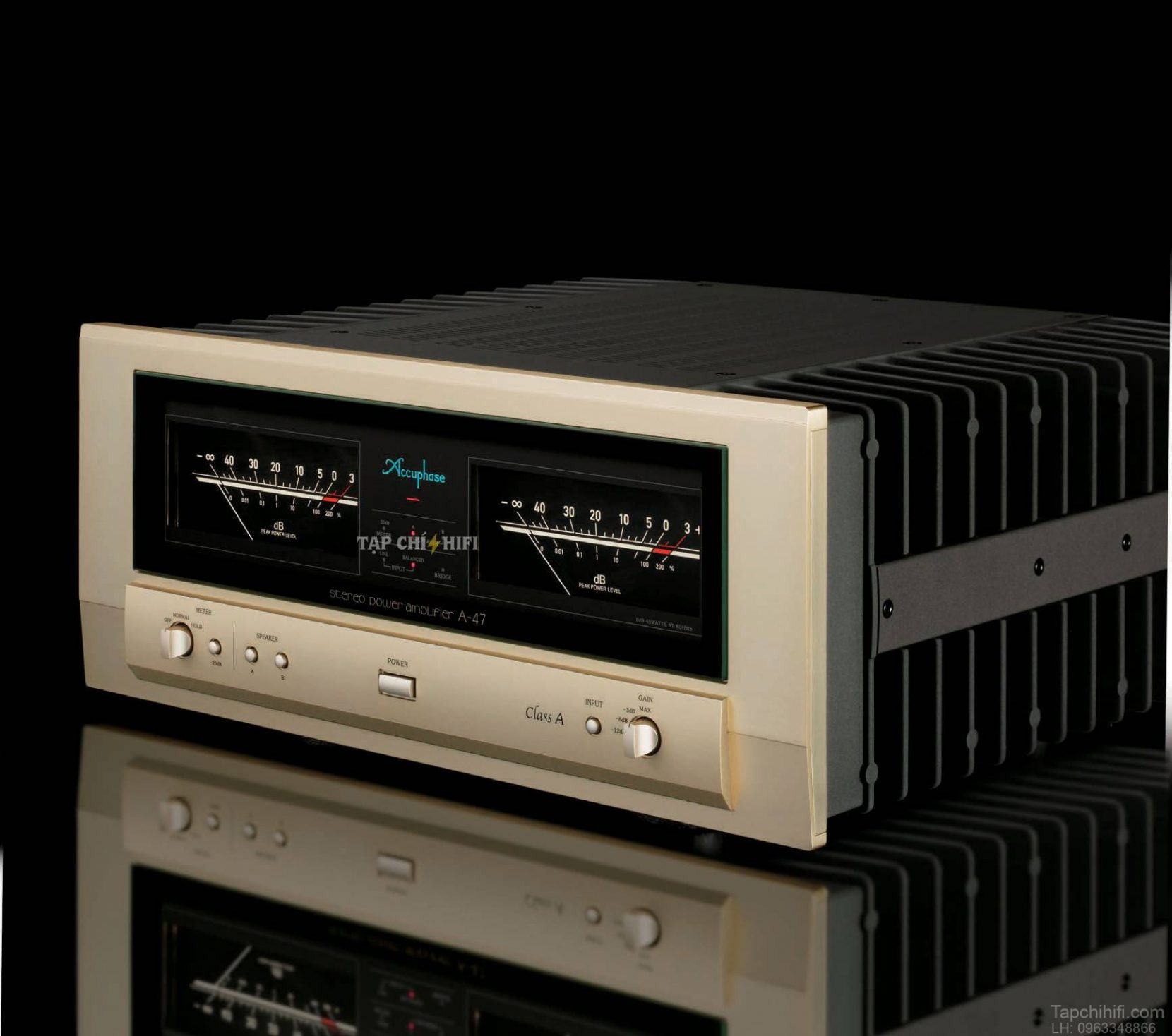 power ampli accuphase a 47 hay
